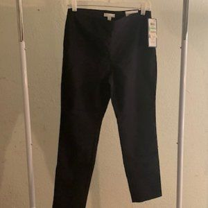Charter Club Deepest Navy Skinny Ankle Pants 8P